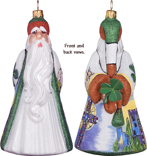 Ireland Santa with Shamrock